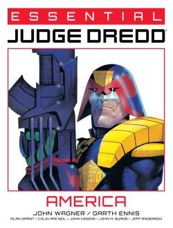Essential Judge Dredd: America cover