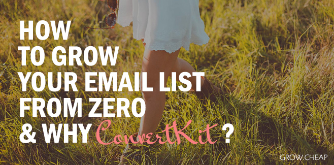 List Building: How To Grow Your Email List From Zero?