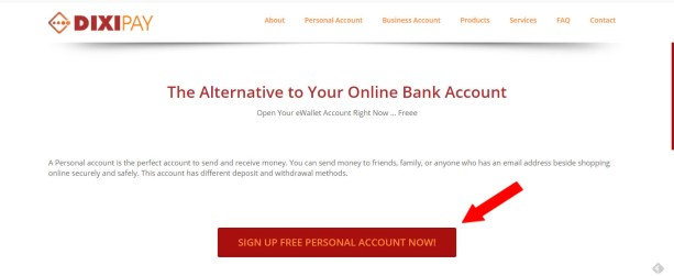 dixipay-egypt-signup-personal-account