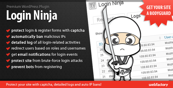 Login Ninja WordPress Login Security