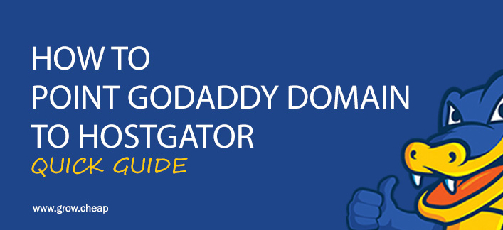 How To Point GoDaddy Domain To HostGator (Quick)