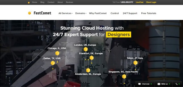 FastComet.com - Best NameCheap Alternatives