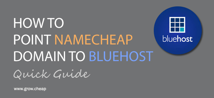 How To Point NameCheap Domain To BlueHost (Quick)