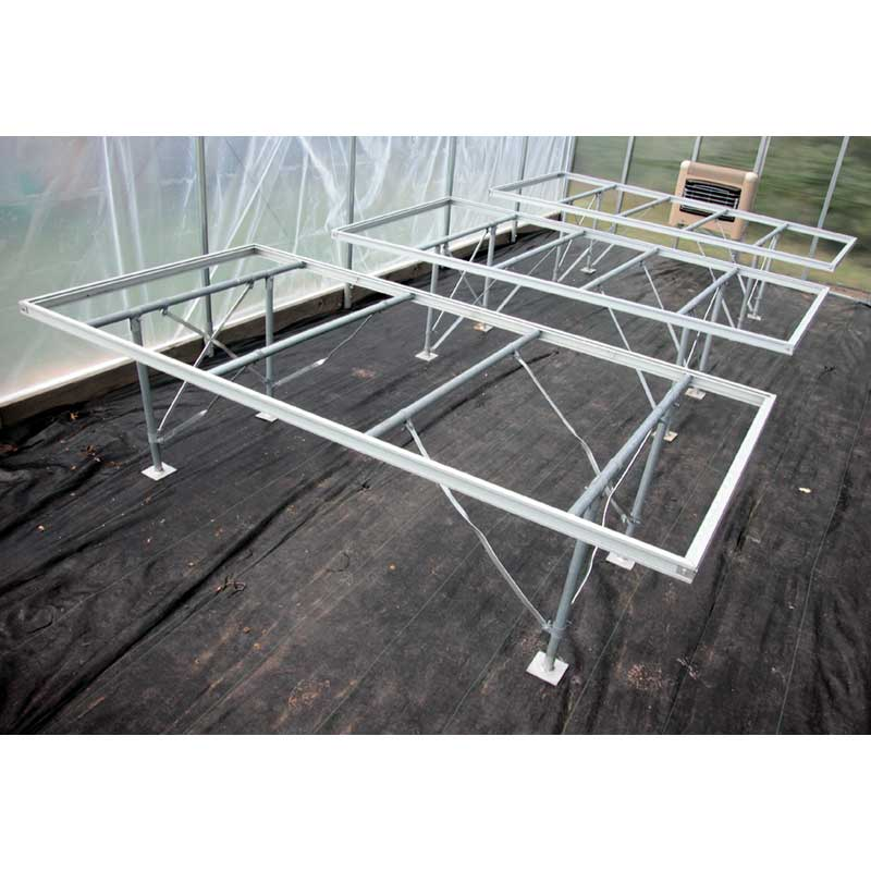 EZ Grow Professional Greenhouse Bench 2 X 8 Growers Supply