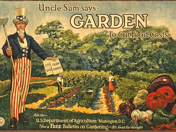 statement encouraging victory gardens from franklin d roosevelt xxxii president of the united states - Liberty Garden