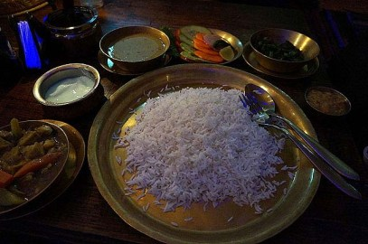 Our staple food in Nepal