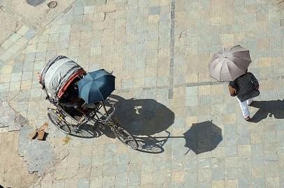 Rickshaw in Durbar Square