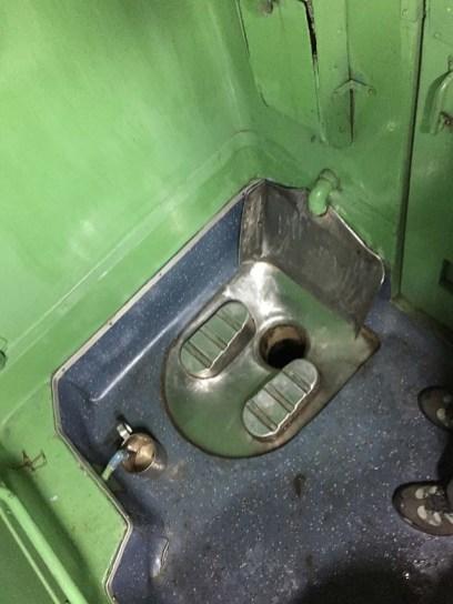 Train squatter