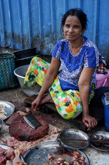 Street Market Yangon