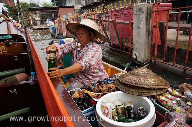 Cheeky tourist tatt seller