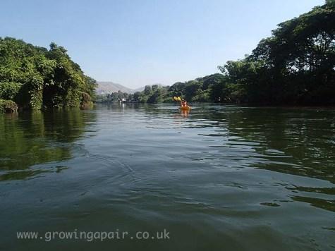 Kayaking Kanchanaburi