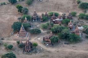 Ballooning over Bagan