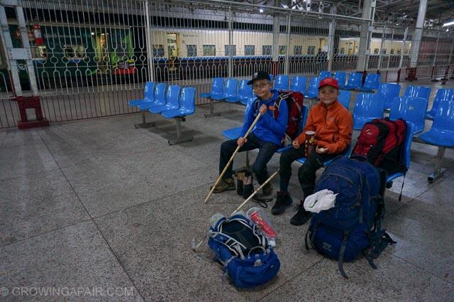 Yangon train station