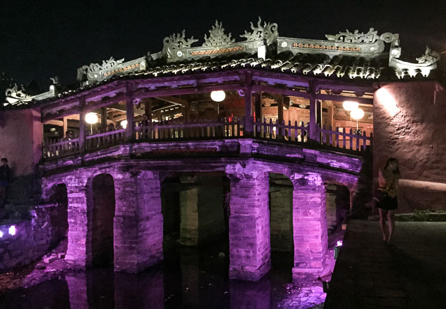 The famous Japanese Bridge