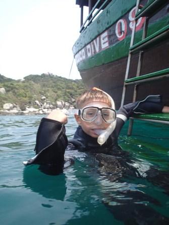 Snorkelling in Vietnam