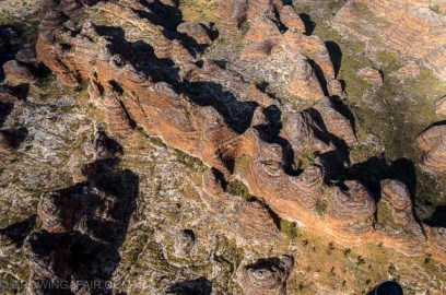 view of Bungles from above
