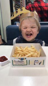McDonalds dinner.