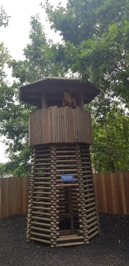 climbing frame watchtower