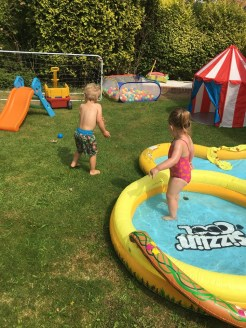 water fun in the heatwave