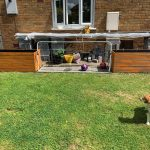 decking board planters