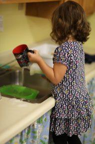 Washing mug