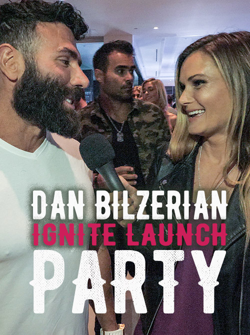 Mansion Party Launching Dan Bilzerian's Ignite Cannabis Co.