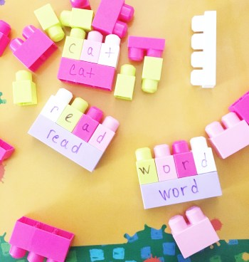 Build a sight word.
