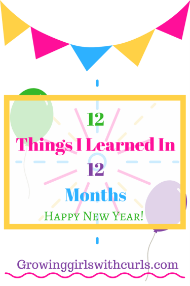 Things I learned in 12 months