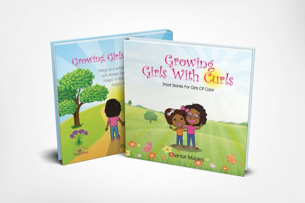 Growing Girls With Curls Book
