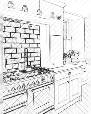 DIY ~ How to Tile a Kitchen Back Splash