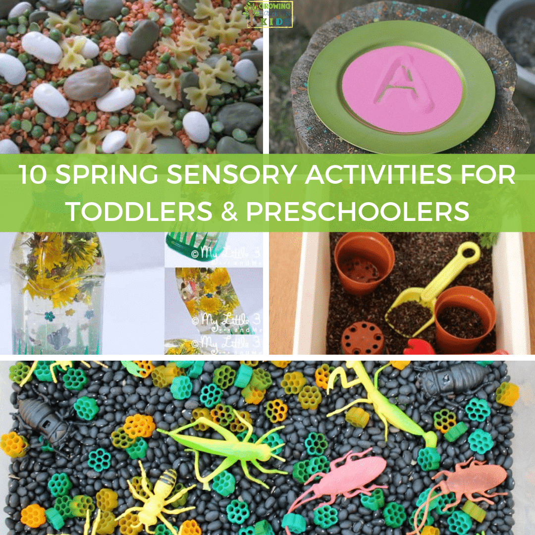 Fine Motor Spring Activities For Toddlers
