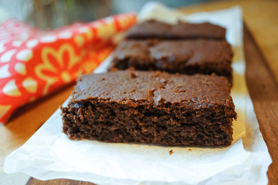 Zucchini Brownie | Gluten Free, Low FODMAP | Growing Home