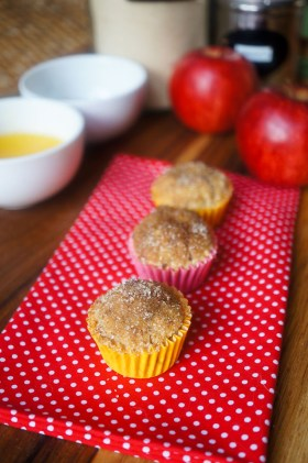 Gluten Free Apple Cinnamon Muffins | Gluten Free | Growing Home
