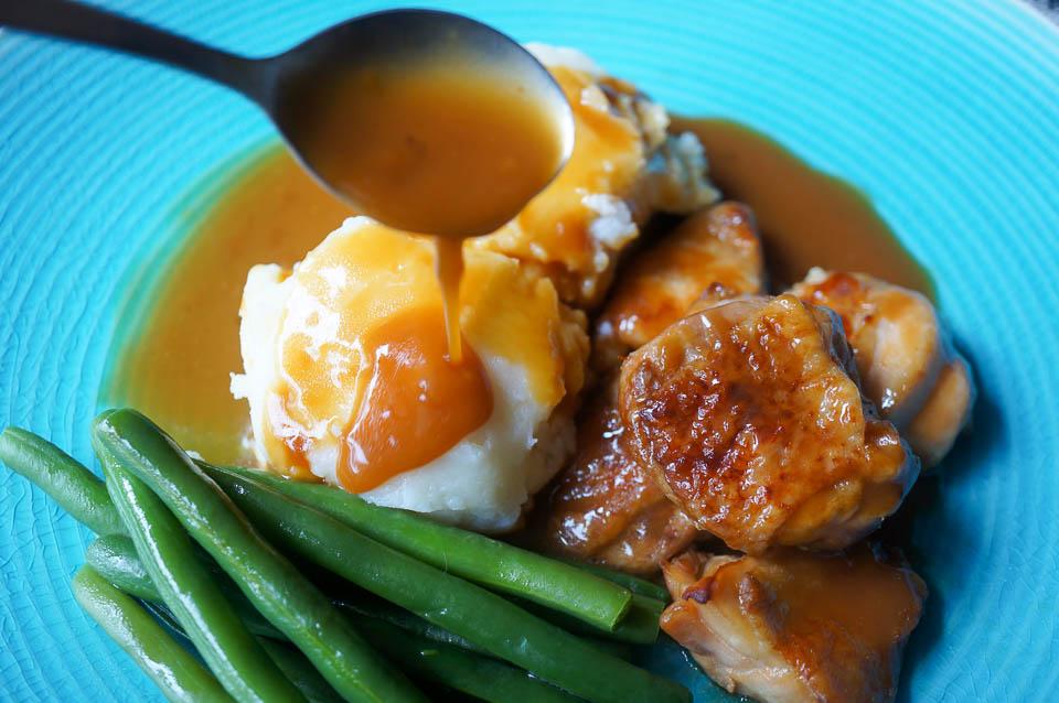Sticky Chicken | Gluten Free, Low FODMAP | Growing Home