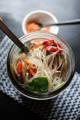 Noodle Soup in a Jar | Just Add Boiling Water | Gluten Free, Low FODMAP | Growing Home