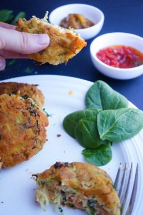 Vege Fritters | Gluten Free, Low FODMAP | Growing Home