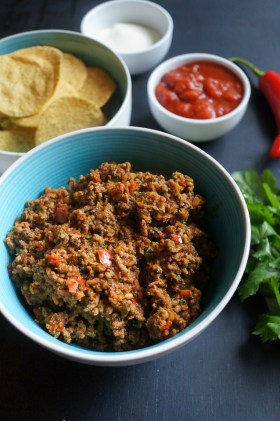 Nacho Mince | Gluten Free, Low FODMAP | Growing Home
