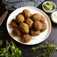 Lamb Koftas | Gluten Free, Low FODMAP | Growing Home