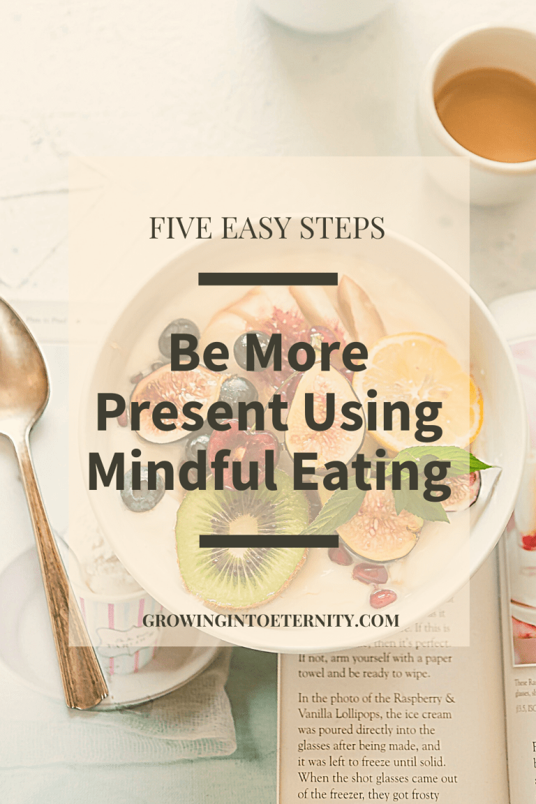 Five Easy Steps to Be More Present Using Mindful Eating