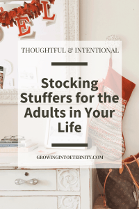 Thoughtful and Intentional Stocking Stuffers for the Adults in Your Life