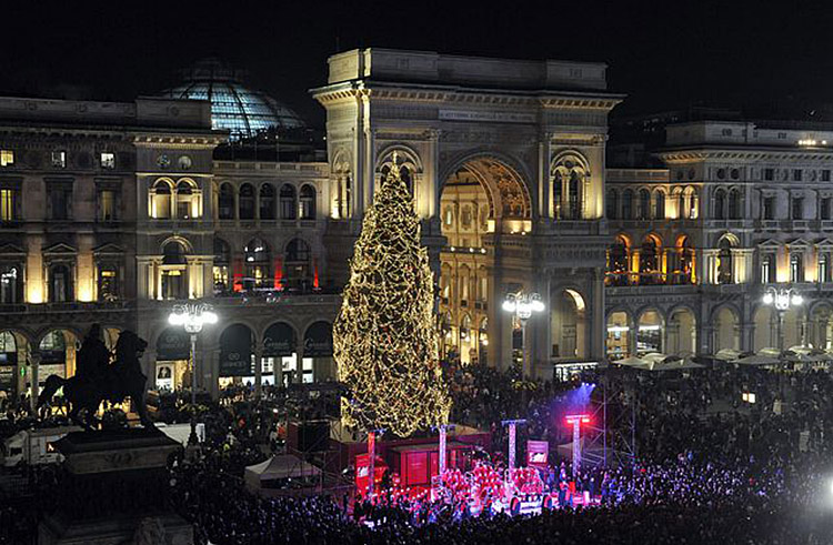 Image result for christmas in milan