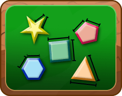 different shapes that are all polygons