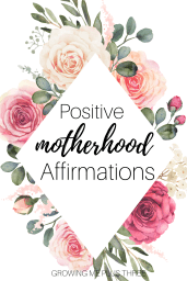 Positive motherhood affirmation cards
