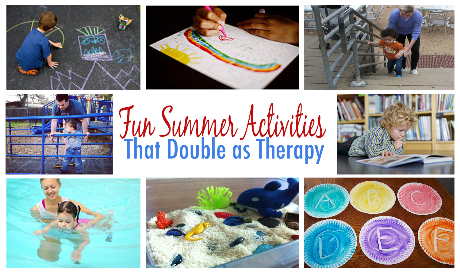 Fun Summer Activities That Double As Therapy