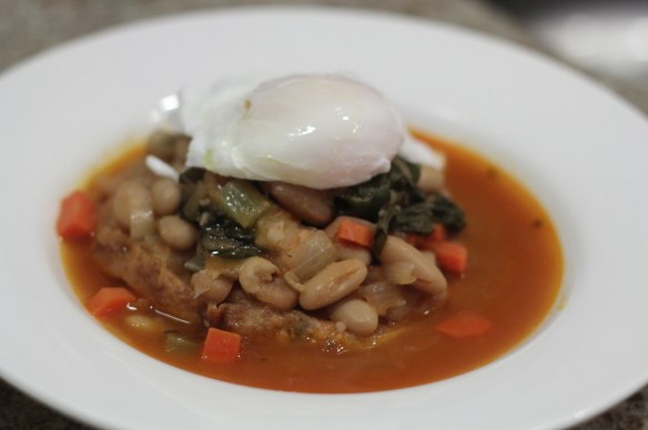 Swiss Chard and Bean Stew