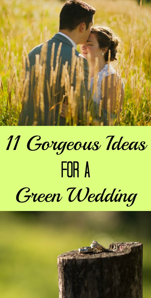 Even on a budget, any couple can have an ethical, beautiful, and joyous wedding | 11 Gorgeous Ideas for a Green Wedding
