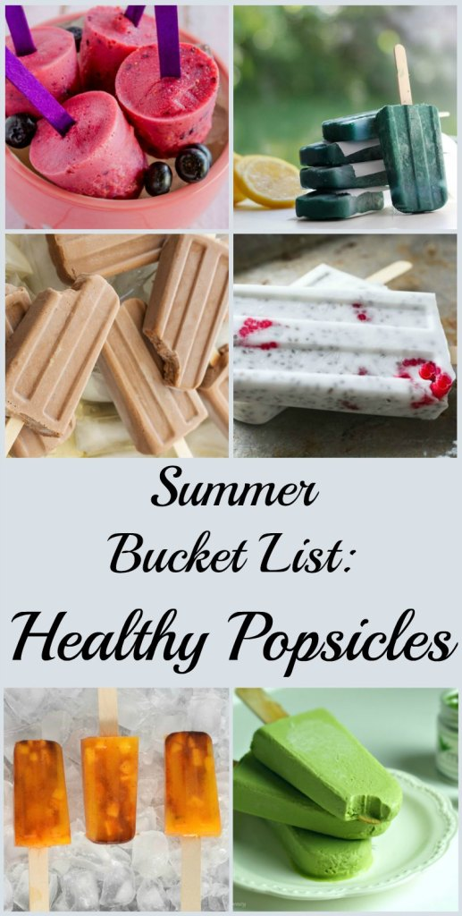 These healthy popsicles to make for summer include natural ingredients and superfood nutrients! None of the 13 recipes for healthy popsicles include refined sugar, artificial colors or preservatives!