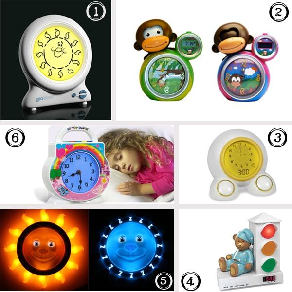 Early Riser 6 Clocks That Help Teach