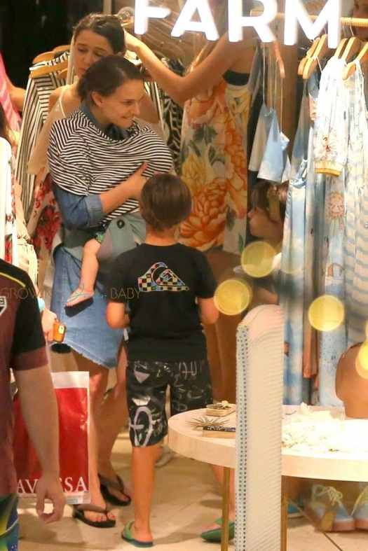 Natalie Portman gets in some retail therapy in Rio while ...