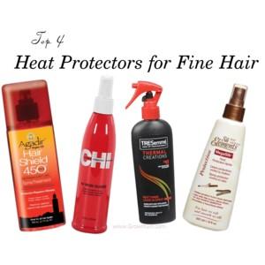 Top 4 Heat Protectors For Fine Hair Grow It Girl